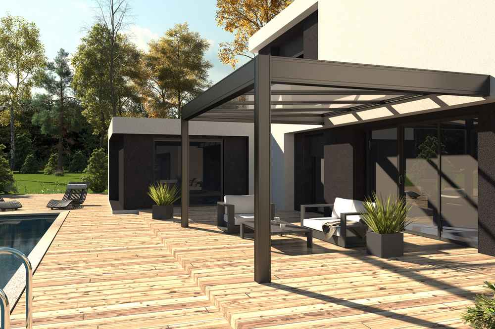 combien co te une pergola l 39 alternative de l 39 abri de. Black Bedroom Furniture Sets. Home Design Ideas