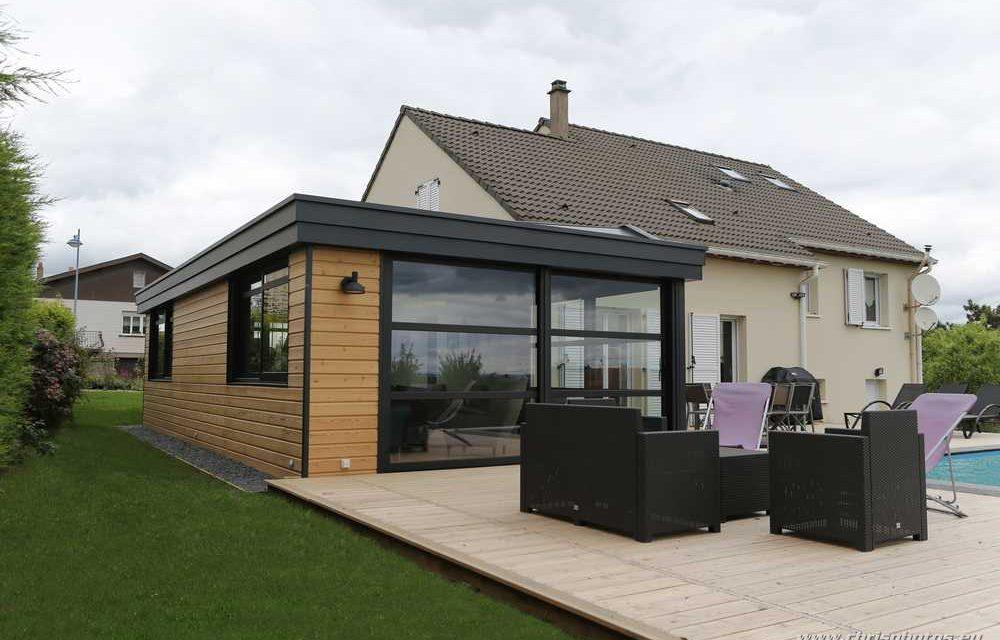 Une extension à toiture plate un espace à vivre toute l année cfc1ef5a84b5