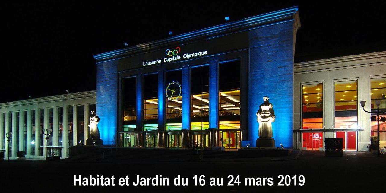 Habitat et Jardin du 16 au 24 mars 2019 à Lausanne