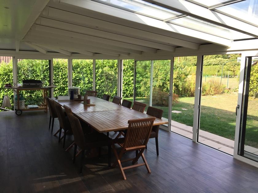 La rénovation ou la création de véranda à Lonay - Habitatetfermetures.ch