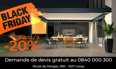 La pergola fait son Black Friday